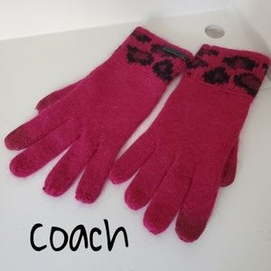 Coach Women gloves New OS fit all